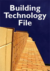 Image representing the Building Technology File series, featuring a skyscr