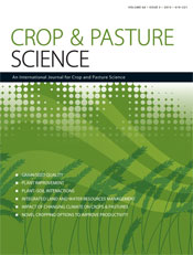 Crop and Pasture Science