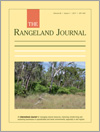 The Rangeland Journal