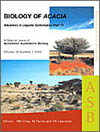 Biology of Acacia. Advances in Legume Systematics Series Part 11