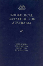 The cover image of Zoological Catalogue of Australia Volume 28, featuring