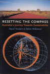 The cover image featuring an orange compass outline over a blue earth line