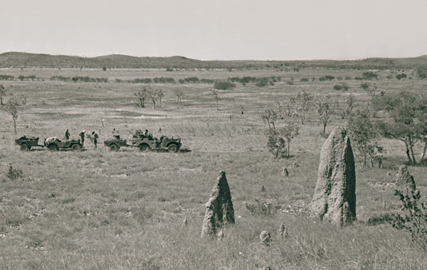 Near Lawn Hill–Riversleigh on the Barkly Tableland, Northern Territory–Queensland 1948