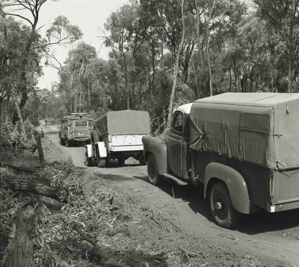 About 29 km south of Rollestone Queensland, Isaac–Comet Survey 1962
