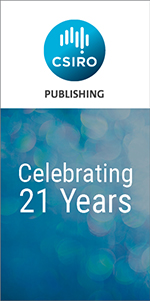 CSIRO Publishing is 21