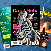 Various Double Helix magazine covers