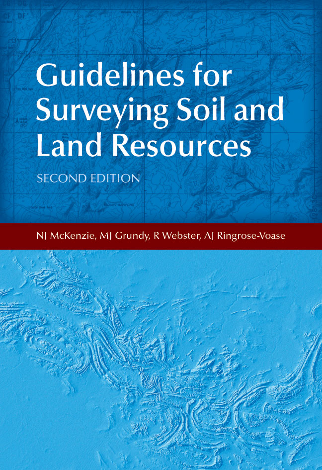 Guidelines For Surveying Soil And Land Resources NJ