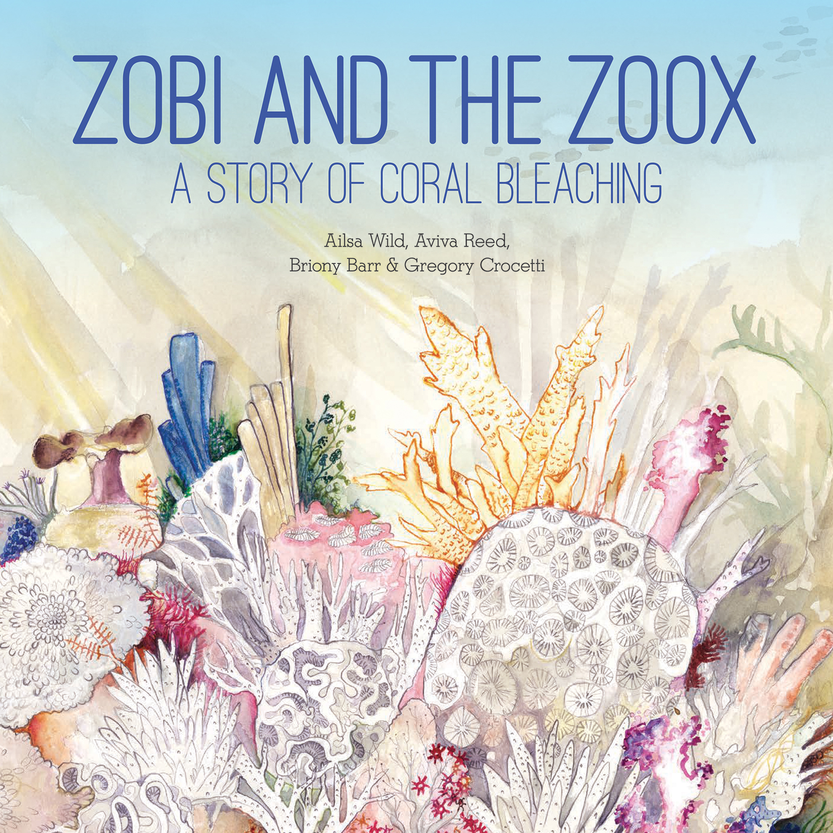 Cover With Illustration Of Bleaching Coral